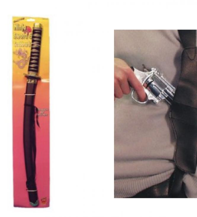 Legetøjs våben til børn og voksne
