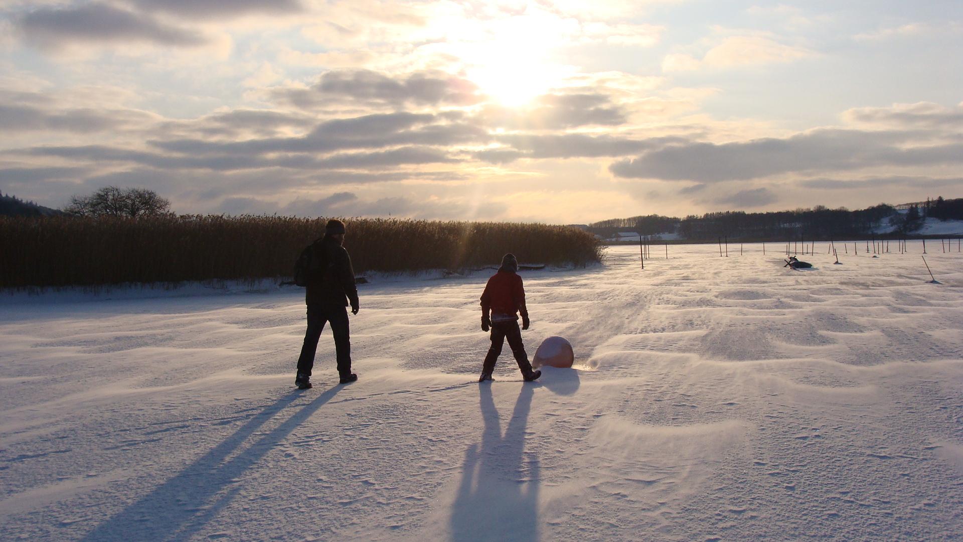 Tag på vintercamping i naturskønne Midtjylland