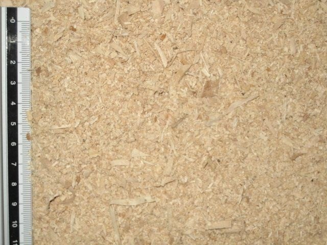 Danish wood flour has a good quality